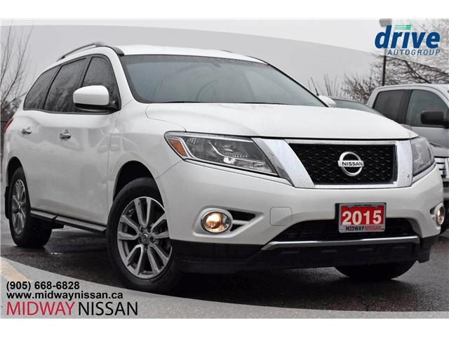 2015 Nissan Pathfinder SV (Stk: JC615706A) in Whitby - Image 1 of 28