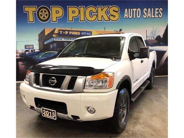 2015 Nissan Titan PRO-4X (Stk: 507149) in NORTH BAY - Image 1 of 26
