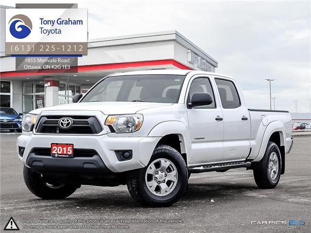 2015 Toyota Tacoma V6 (Stk: E7667) in Ottawa - Image 1 of 27