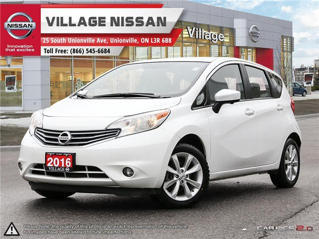 2016 Nissan Versa Note 1.6 SL (Stk: 80912A) in Unionville - Image 1 of 27