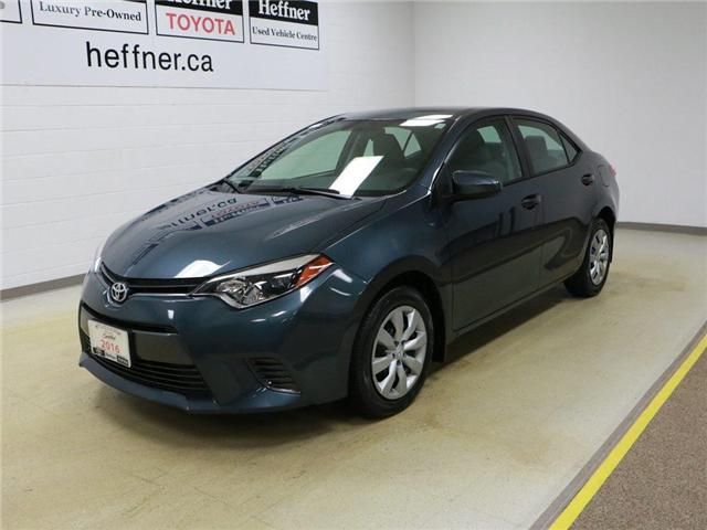 2016 Toyota Corolla  (Stk: 186480) in Kitchener - Image 1 of 27