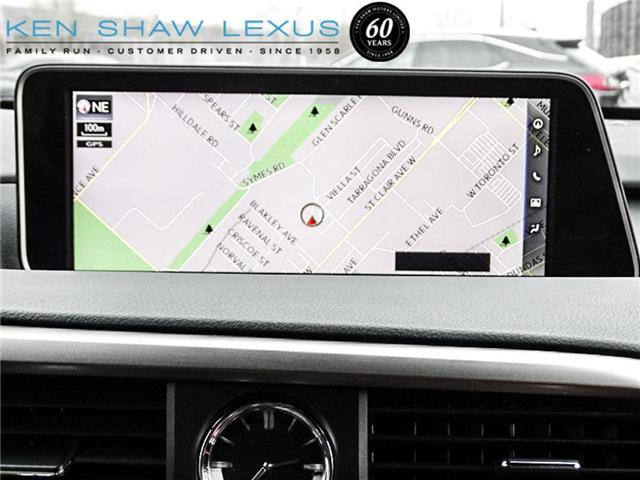 2017 Lexus RX 350 Base (Stk: 15815A) in Toronto - Image 19 of 20