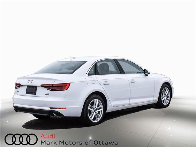 2017 Audi A4 2.0T Komfort (Stk: 91179A) in Nepean - Image 4 of 26