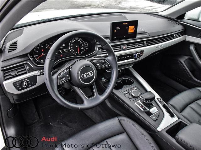 2017 Audi A4 2.0T Komfort (Stk: 91179A) in Nepean - Image 9 of 26