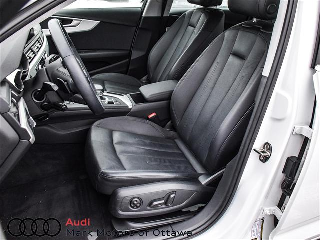 2017 Audi A4 2.0T Komfort (Stk: 91179A) in Nepean - Image 10 of 26