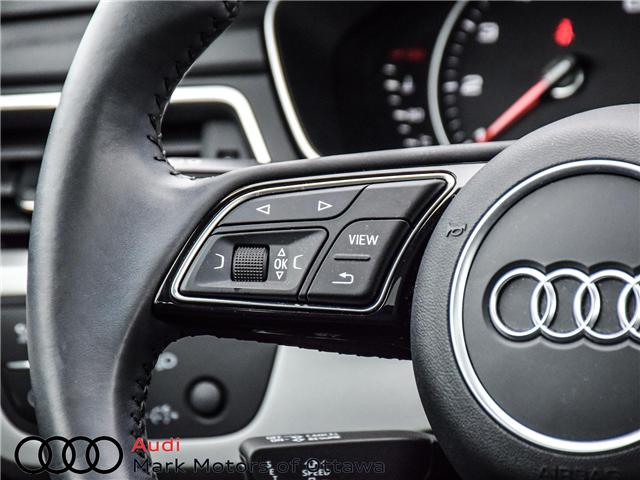 2017 Audi A4 2.0T Komfort (Stk: 91179A) in Nepean - Image 12 of 26