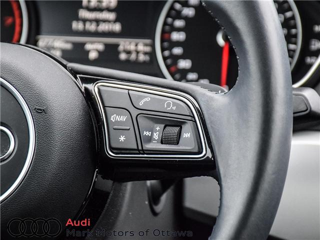 2017 Audi A4 2.0T Komfort (Stk: 91179A) in Nepean - Image 13 of 26