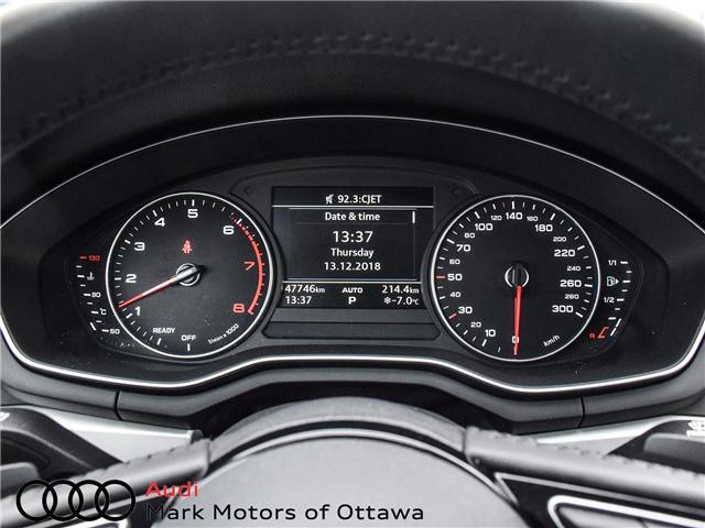 2017 Audi A4 2.0T Komfort (Stk: 91179A) in Nepean - Image 14 of 26