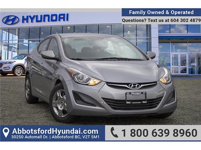 2016 Hyundai Elantra GL (Stk: JT637898A) in Abbotsford - Image 1 of 28