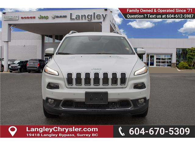 2018 Jeep Cherokee Limited (Stk: EE899820) in Surrey - Image 2 of 25