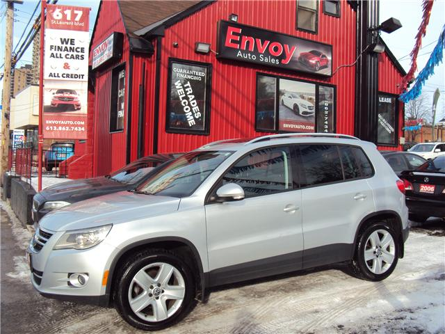 2011 Volkswagen Tiguan 2.0 TSI Highline (Stk: ) in Ottawa - Image 1 of 16