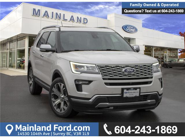2019 Ford Explorer Platinum (Stk: 9EX4498) in Vancouver - Image 1 of 29