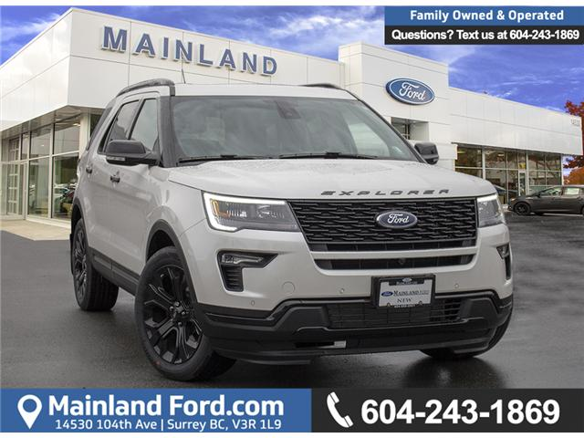 2019 Ford Explorer Platinum (Stk: 9EX4524) in Surrey - Image 1 of 30