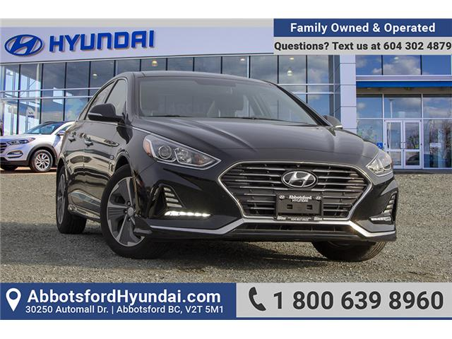 2018 Hyundai Sonata Hybrid GLS (Stk: JS078729) in Abbotsford - Image 1 of 27