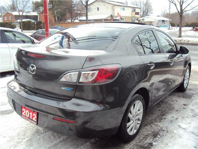 2012 Mazda Mazda3 GS-SKY (Stk: ) in Ottawa - Image 4 of 27