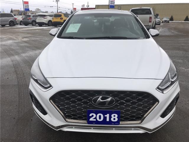 2018 Hyundai Sonata 2.4 Sport (Stk: 18495) in Sudbury - Image 2 of 14