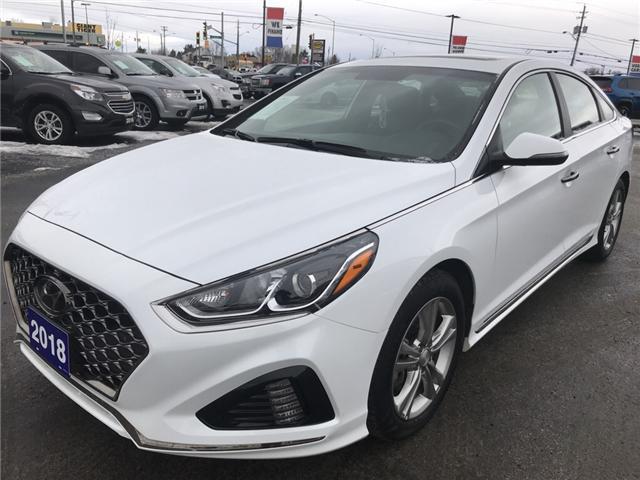 2018 Hyundai Sonata 2.4 Sport (Stk: 18495) in Sudbury - Image 3 of 14