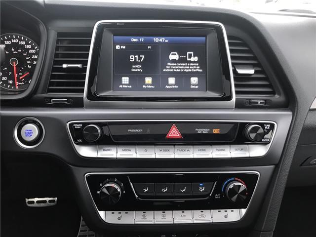 2018 Hyundai Sonata 2.4 Sport (Stk: 18495) in Sudbury - Image 12 of 14