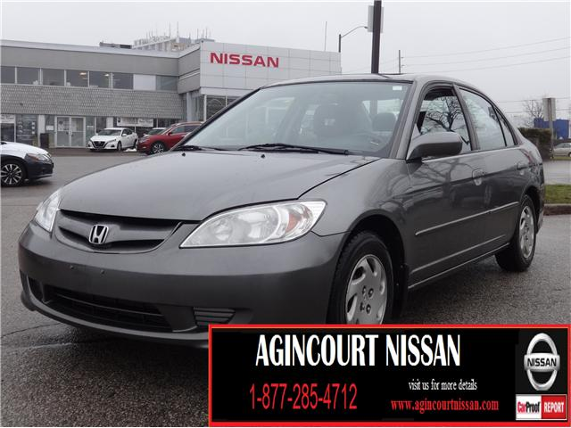 2004 Honda Civic LX (Stk: KC722323A) in Scarborough - Image 1 of 13