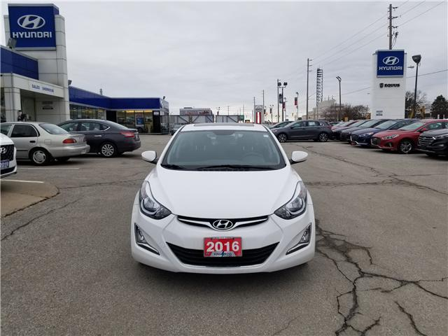 2016 Hyundai Elantra Sport Appearance (Stk: 28077A) in Scarborough - Image 2 of 12