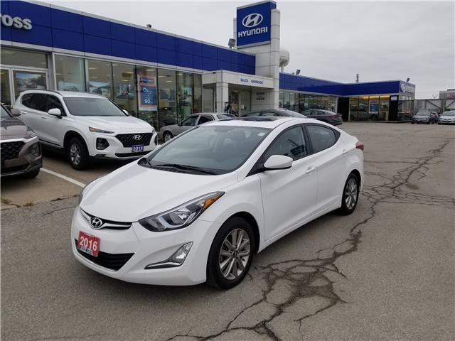 2016 Hyundai Elantra Sport Appearance (Stk: 28077A) in Scarborough - Image 3 of 12