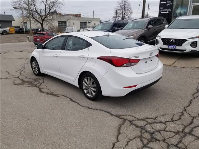 2016 Hyundai Elantra Sport Appearance (Stk: 28077A) in Scarborough - Image 4 of 12