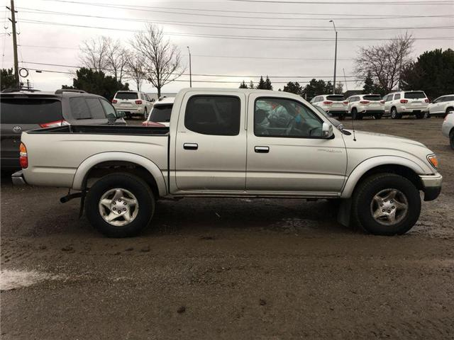 2003 Toyota Tacoma PRERUNNER 4X2 DOUBLE CAB, ALLOY WHEELS, POWER GROU (Stk: 40357A) in Brampton - Image 7 of 7