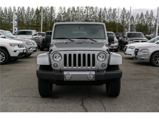 2018 Jeep Wrangler JK Unlimited Sahara (Stk: AB0803) in Abbotsford - Image 2 of 22