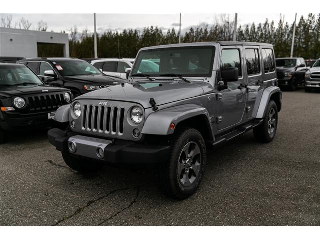 2018 Jeep Wrangler JK Unlimited Sahara (Stk: AB0803) in Abbotsford - Image 3 of 22