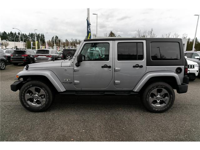 2018 Jeep Wrangler JK Unlimited Sahara (Stk: AB0803) in Abbotsford - Image 4 of 22