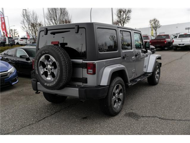 2018 Jeep Wrangler JK Unlimited Sahara (Stk: AB0803) in Abbotsford - Image 7 of 22