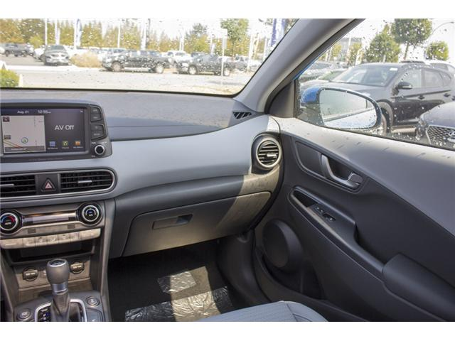 2018 Hyundai Kona 1.6T Ultimate (Stk: JK171571) in Abbotsford - Image 14 of 27