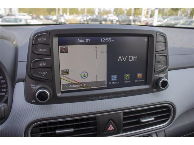 2018 Hyundai Kona 1.6T Ultimate (Stk: JK171571) in Abbotsford - Image 22 of 27