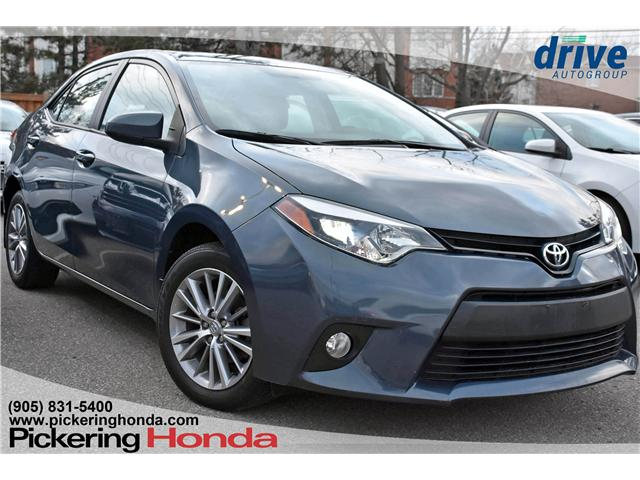 2014 Toyota Corolla LE (Stk: P4587) in Pickering - Image 1 of 23