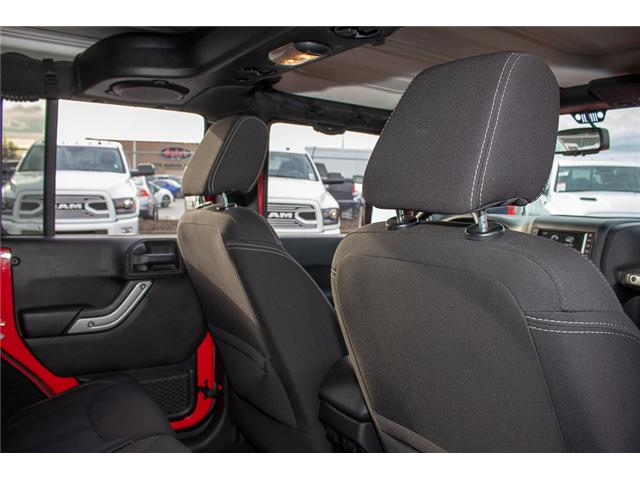 2013 Jeep Wrangler Unlimited Sahara (Stk: J273622A) in Surrey - Image 14 of 26