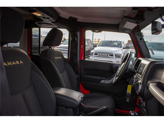 2013 Jeep Wrangler Unlimited Sahara (Stk: J273622A) in Surrey - Image 16 of 26
