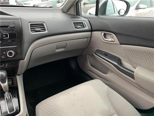 2015 Honda Civic LX (Stk: 039067) in Orleans - Image 12 of 26