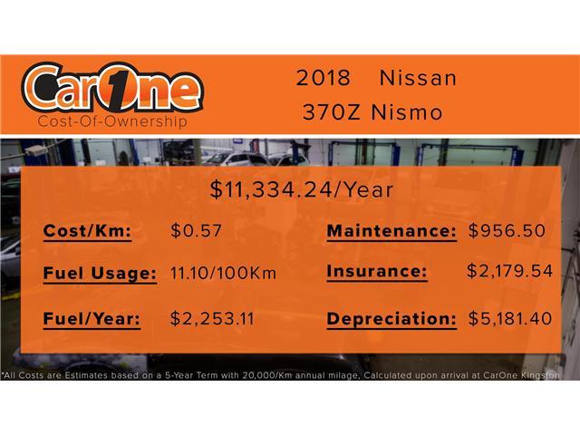 2018 Nissan 370Z Nismo (Stk: PT18-305) in Kingston - Image 34 of 36