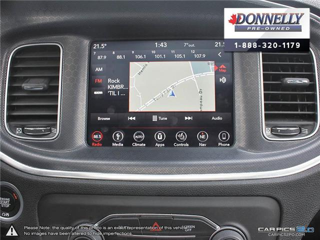 2018 Dodge Charger GT (Stk: CLKUR2193) in Kanata - Image 22 of 27