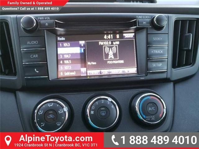 2018 Toyota RAV4 LE (Stk: W854678) in Cranbrook - Image 12 of 16