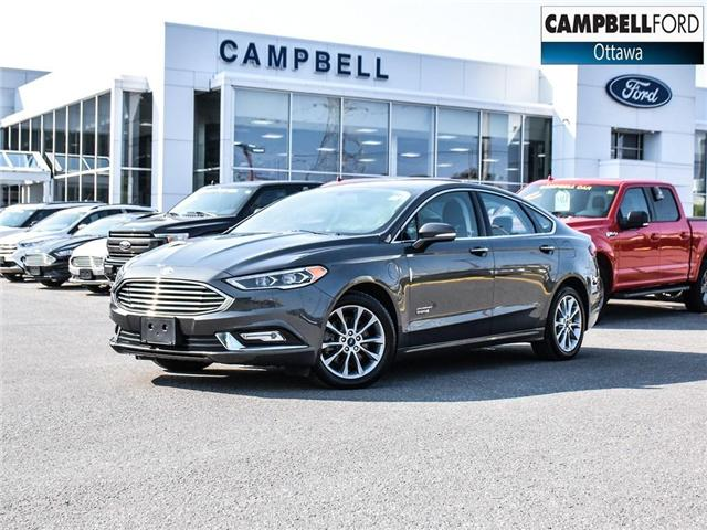 2017 Ford Fusion Energi SE Luxury WOW ENERGY WITH LEATHER (Stk: 1815981) in Ottawa - Image 1 of 23