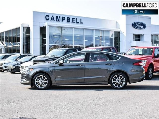 2017 Ford Fusion Energi SE Luxury WOW ENERGY WITH LEATHER (Stk: 1815981) in Ottawa - Image 3 of 23