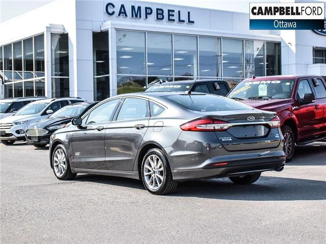 2017 Ford Fusion Energi SE Luxury WOW ENERGY WITH LEATHER (Stk: 1815981) in Ottawa - Image 4 of 23