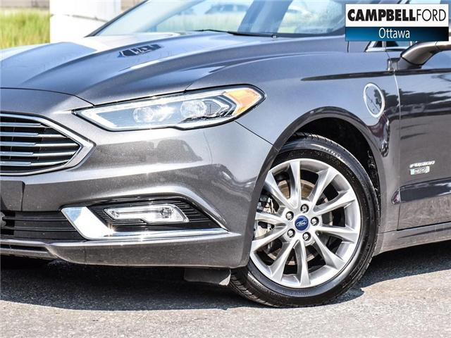 2017 Ford Fusion Energi SE Luxury WOW ENERGY WITH LEATHER (Stk: 1815981) in Ottawa - Image 10 of 23