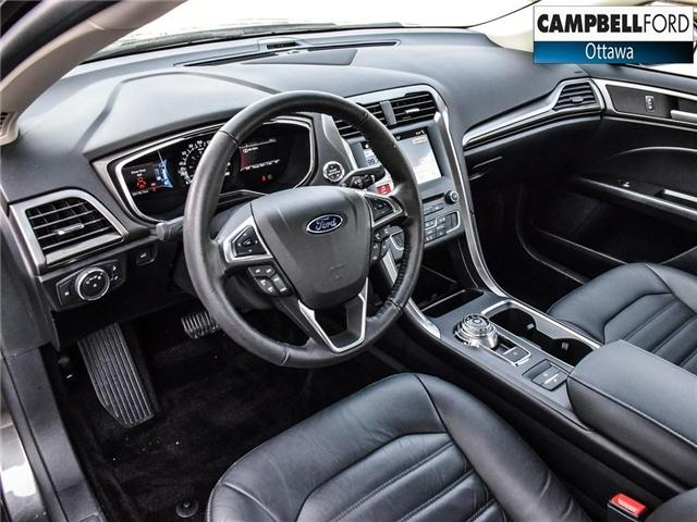2017 Ford Fusion Energi SE Luxury WOW ENERGY WITH LEATHER (Stk: 1815981) in Ottawa - Image 11 of 23