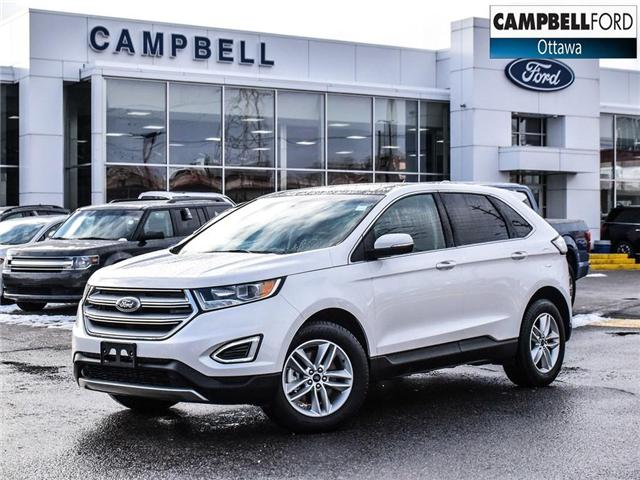 2018 Ford Edge SEL 15, 000 KMS-LEATHER-NAV-POWER ROOF-AWD (Stk: 945460) in Ottawa - Image 1 of 24