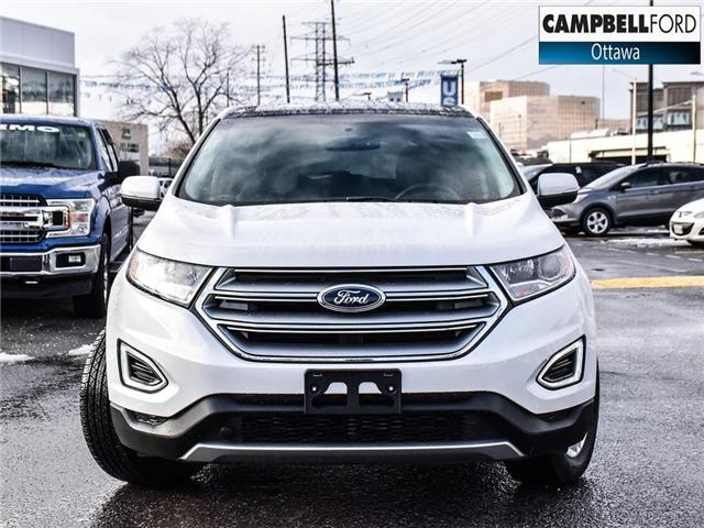 2018 Ford Edge SEL 15, 000 KMS-LEATHER-NAV-POWER ROOF-AWD (Stk: 945460) in Ottawa - Image 2 of 24