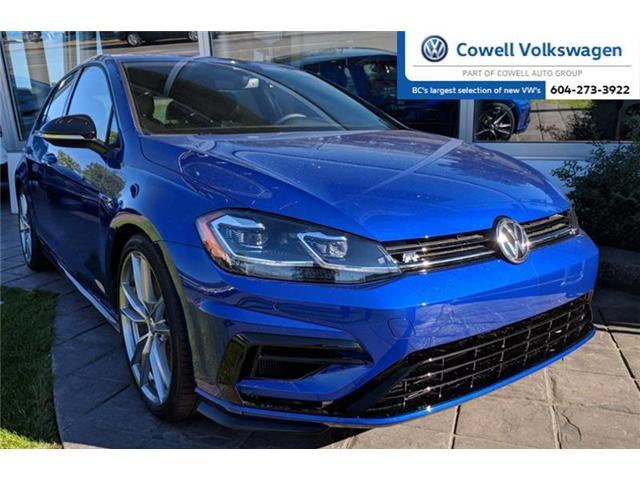2018 Volkswagen Golf R 2.0 TSI (Stk: VWQJ5226) in Richmond - Image 1 of 2