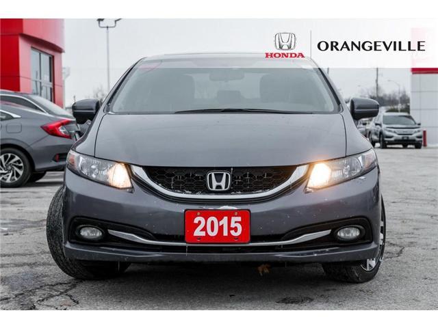 2015 Honda Civic Touring (Stk: V18334A) in Orangeville - Image 2 of 21