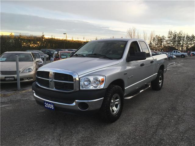 2008 Dodge Ram 1500 SXT Quad Cab Long Bed 4WD (Stk: P3563) in Newmarket - Image 1 of 12